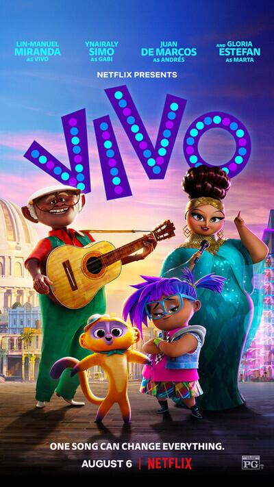 รีวิวภาพยนต์ เรื่อง Vivo - วีโว่ 2021