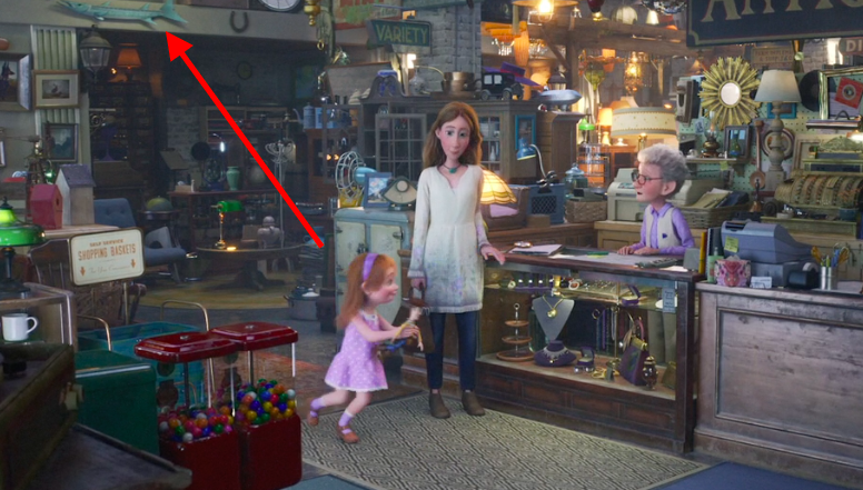 Toy Story 4 มอบความยุติธรรมด้วยการค้นหาไข่อีสเตอร์ Barracuda ของ Nemo ได้อย่างไร